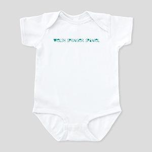 Welsh Springer Spaniel (fun b Infant Bodysuit