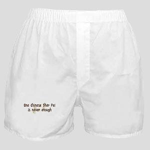 Never enough: Chinese Shar Pe Boxer Shorts