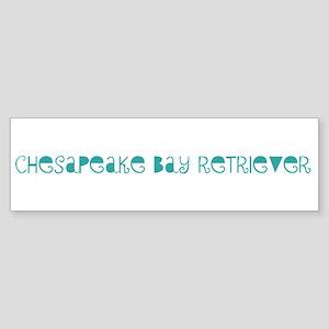 Chesapeake Bay Retriever (fun Bumper Sticker