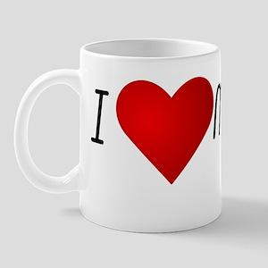 I Heart My Cub Mug