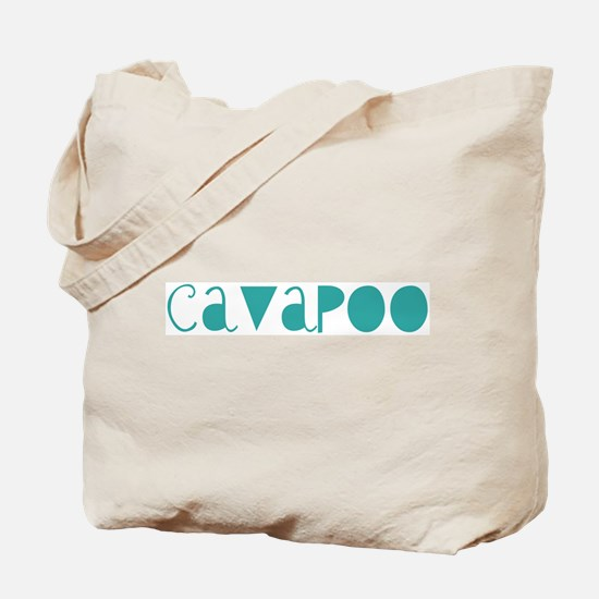 Cavapoo (fun blue) Tote Bag