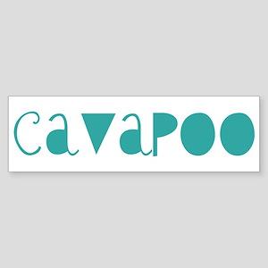 Cavapoo (fun blue) Bumper Sticker