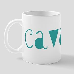 Cavapoo (fun blue) Mug