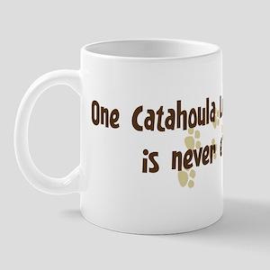 Never enough: Catahoula Leopa Mug