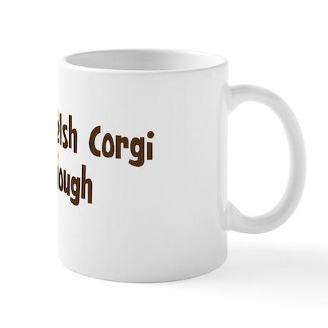 Never enough: Cardigan Welsh Mug