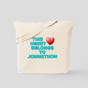 This Heart: Johnathon (E) Tote Bag