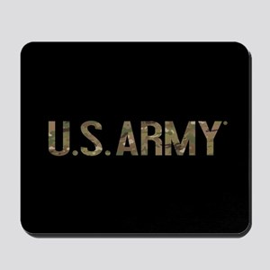 U.S. Army in Camouflage Mousepad