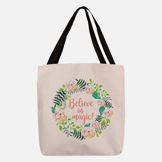 BELIEVE IN MAGIC! Polyester Tote Bag