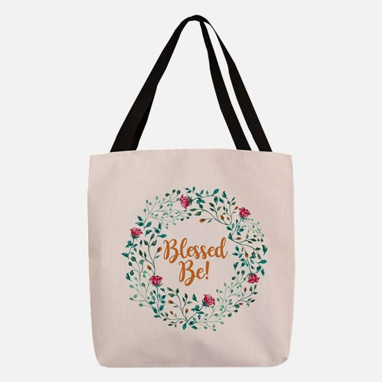 BLESSED BE! Polyester Tote Bag