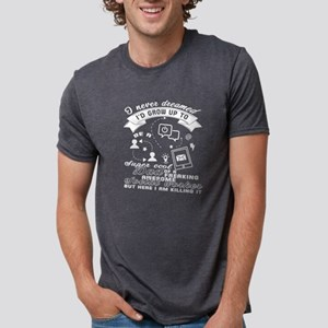 Become A Dad Doing Social Work T Shirt T-Shirt