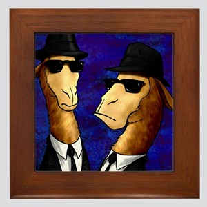The Llama Brothers Framed Tile