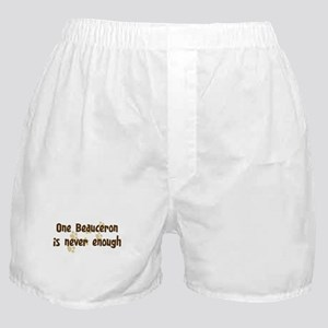 Never enough: Beauceron Boxer Shorts
