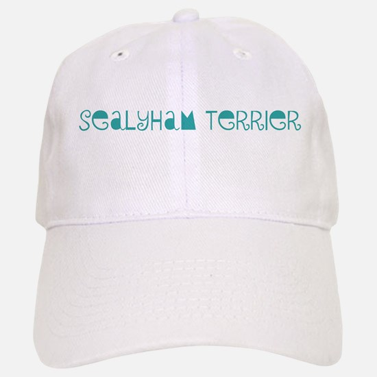 Sealyham Terrier (fun blue) Baseball Baseball Cap