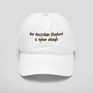 Never enough: Australian Shep Cap