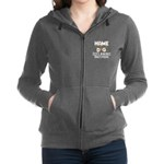 Home is where the dog is Women's Zip Hoodie