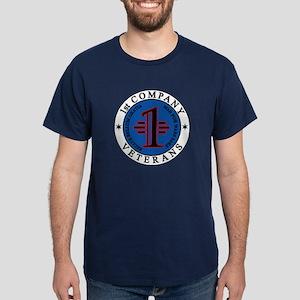1st Company Veterans' Dark T-Shirt
