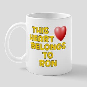 This Heart: Ron (D) Mug