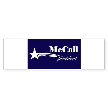 James H. McCall president Bumper Sticker