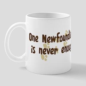 Never enough: Newfoundland Mug