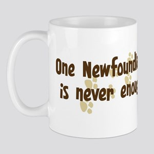 Never enough: Newfoundland Mug