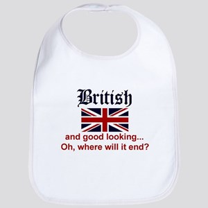 Good Looking British Bib