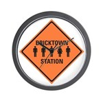 bricktown station Wall Clock