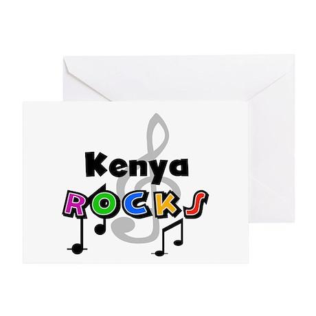 Kenya Rocks Greeting Card