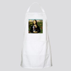 Mona Lisa's Boston Terrier BBQ Apron