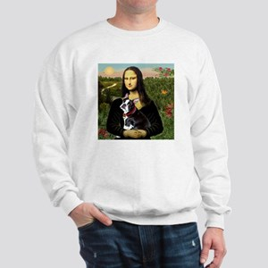 Mona Lisa's Boston Terrier Sweatshirt
