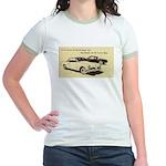 Two '53 Studebakers on Jr. Ringer T-Shirt