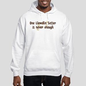 Never enough: Llewellin Sette Hooded Sweatshirt