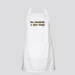 Never enough: Labradoodle BBQ Apron