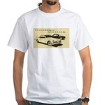 Two '53 Studebakers on White T-Shirt