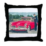 Red Studebaker on Throw Pillow