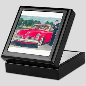 Red Studebaker on Keepsake Box