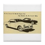 Two '53 Studebakers on Tile Coaster