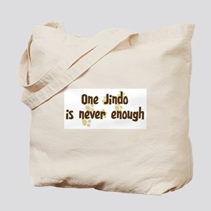 Never enough: Jindo Tote Bag