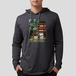 Japanese Classic Asian Temple Long Sleeve T-Shirt