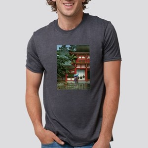 Japanese Classic Asian Temple Rain Asia Ar T-Shirt