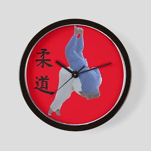 Judo Seoinage Wall Clock