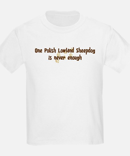 Never enough: Polish Lowland  T-Shirt