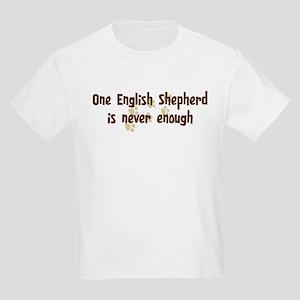 Never enough: English Shepher Kids Light T-Shirt