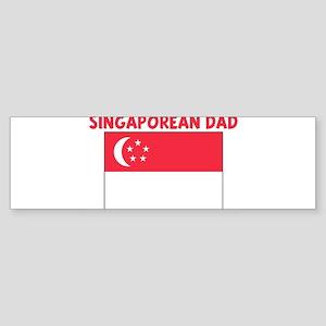 SINGAPOREAN DAD Bumper Sticker