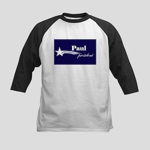 Ron Paul president Kids Baseball Jersey