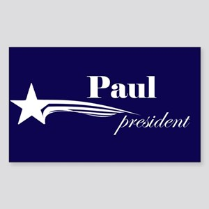 Ron Paul president Rectangle Sticker