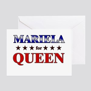 MARIELA for queen Greeting Card