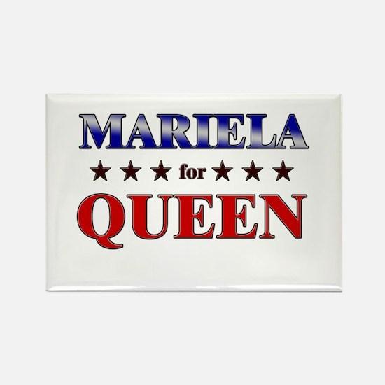MARIELA for queen Rectangle Magnet