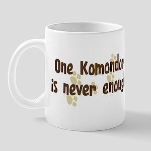 Never enough: Komondor Mug