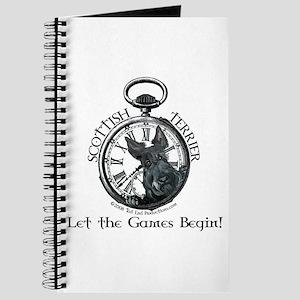 Scottish Terrier Game Time! Journal