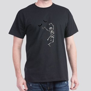 Dancing with the bats -skeleton T-Shirt